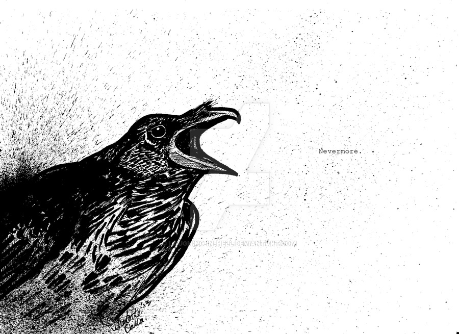 Drawn quoth saturday DeviantArt Raven by the Quoth