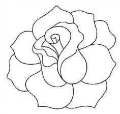 Drawn rose line art Could for a Lily Jingle?