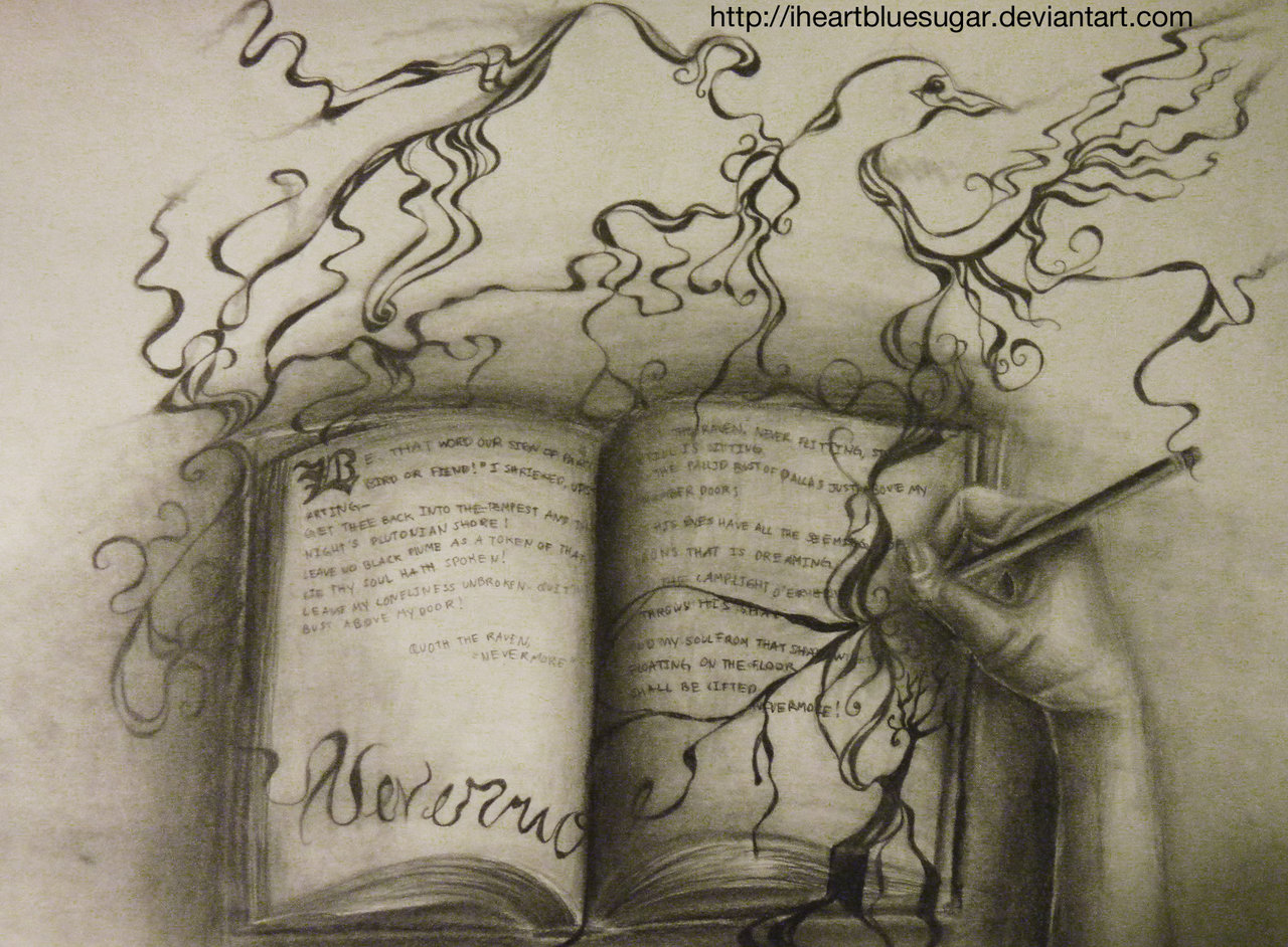 Drawn quoth special one 'Nevermore' Quoth Quoth on DeviantArt