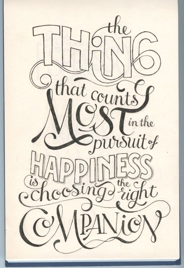 Drawn quoth typography Best on Pinterest this on