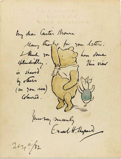 Drawn quote winnie the pooh By Ernest drawing by ink