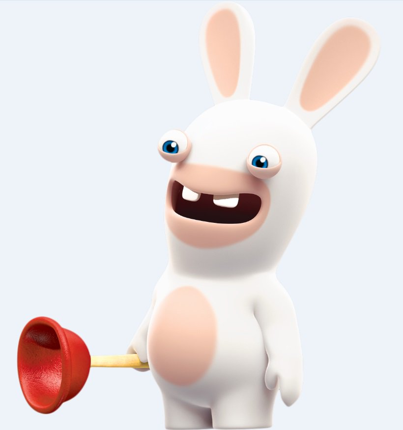Drawn rabbid 5 year old Invade Rabbids 1 Consoles Our