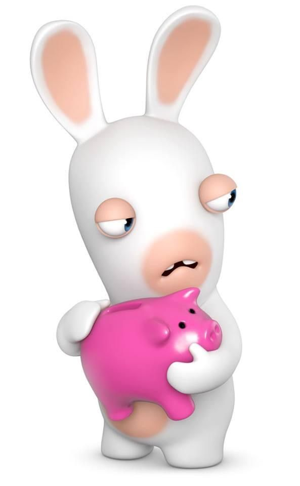 Drawn rabbid 5 year old WITH GREEDY Humor ARE Invasion