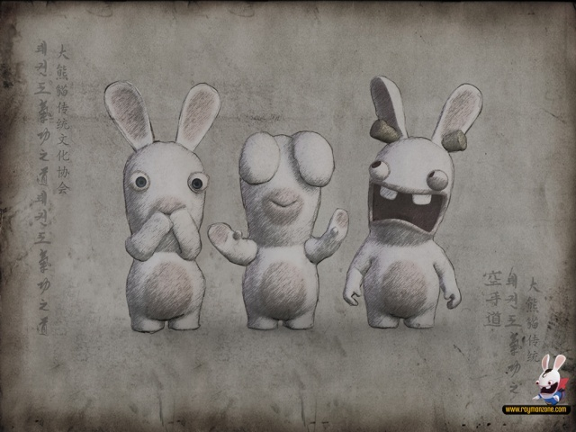 Drawn rabbid adorable bunny Pinterest Rabbid Rabbids on 72