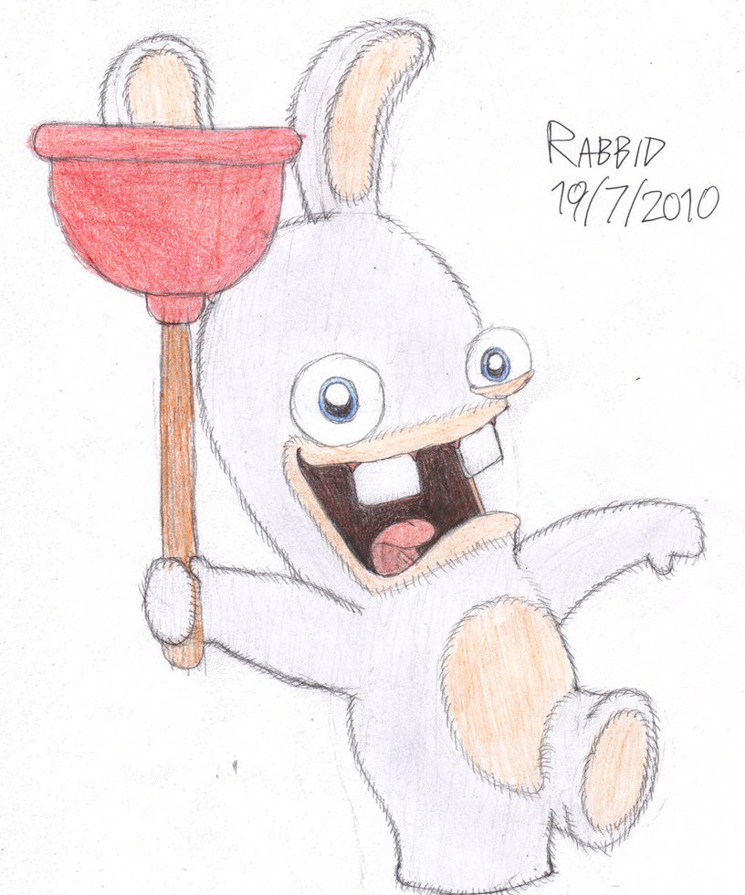 Drawn rabbid basic By on Studios C Rabbid