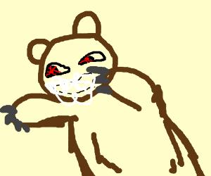 Drawn rabbid bear By Rabid Bear Rabid Bear