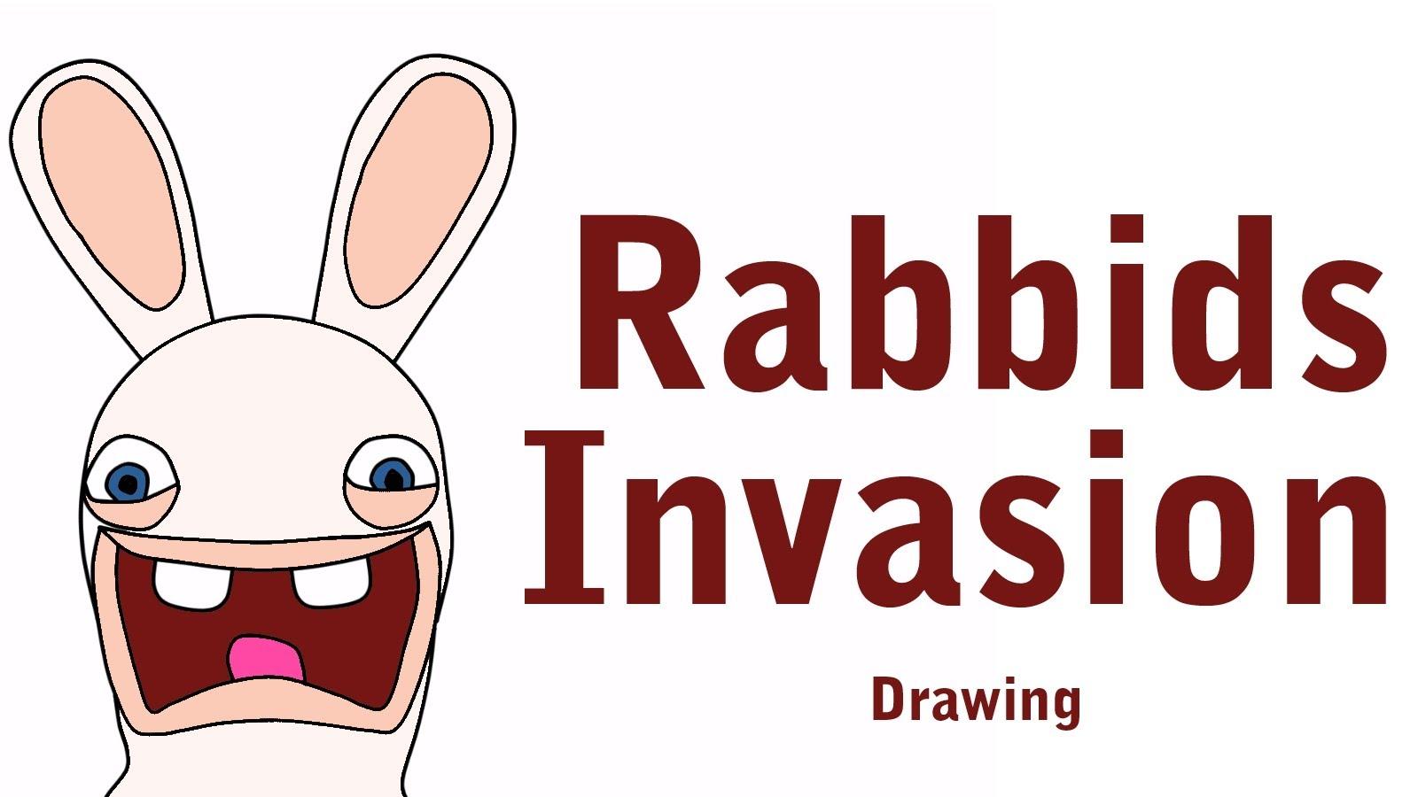 Drawn rabbid cartoon How 1 Rabbids draw 1