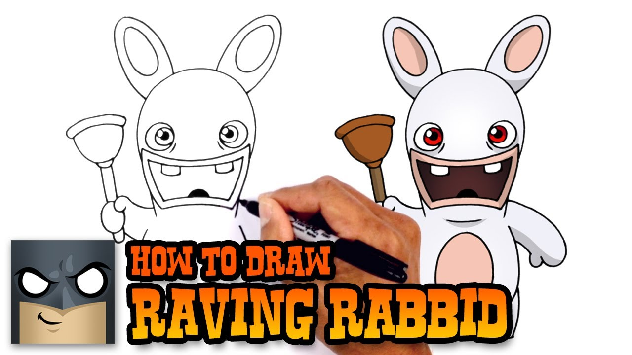 Drawn rabbid chibi Draw to Raving Rayman YouTube