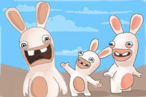 Drawn rabbid chibi To to Rabbids Rabbids Rabbids