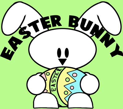 Drawn rabbid easter bunny Lessons Draw to by Egg