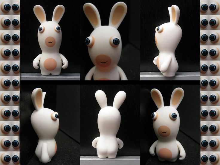 Drawn rabbid funny bunny Best Rabbids images cute from