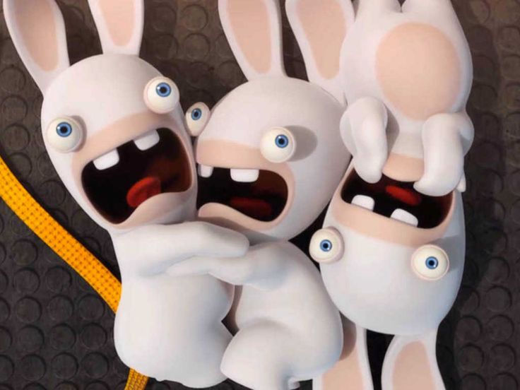 Drawn rabbid funny bunny Pinterest best rabbids about Safe