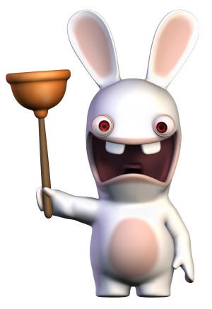 Drawn rabbid rabbit eye Fan Thread like Sprite with