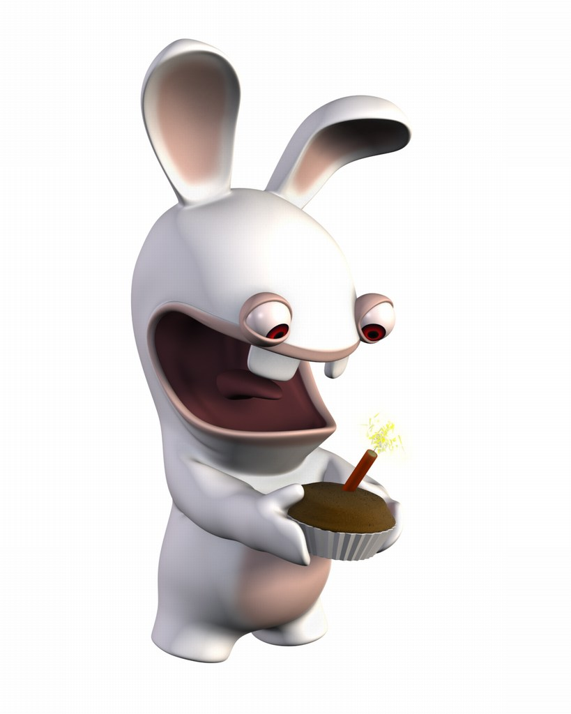 Drawn rabbid sweet bunny Rabbid Best Raving bunny Raving