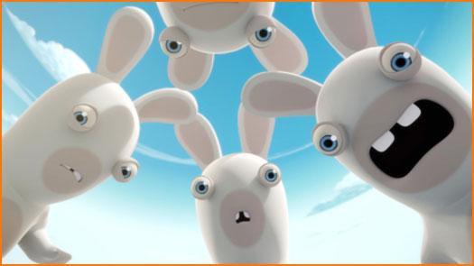 Drawn rabbid sweet bunny Am to the last Show