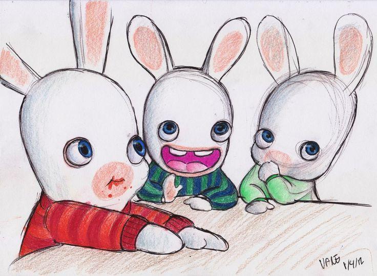 Drawn rabbid sweet bunny *Vane images best on Rabbid