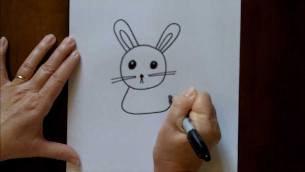 Drawn rabbit 5 year old Beginners to Drawing by to