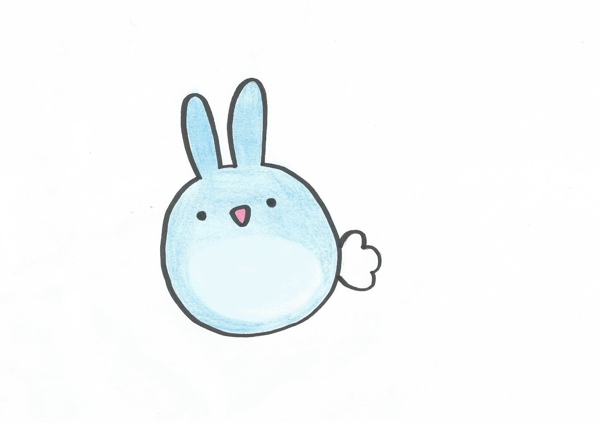 Drawn rabbit adorable bunny Cute to How a BUNNY