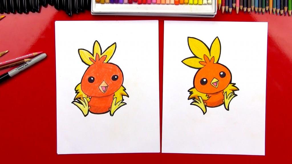 Drawn rabbit art for kid hub Torchic Pokemon Kids  Art