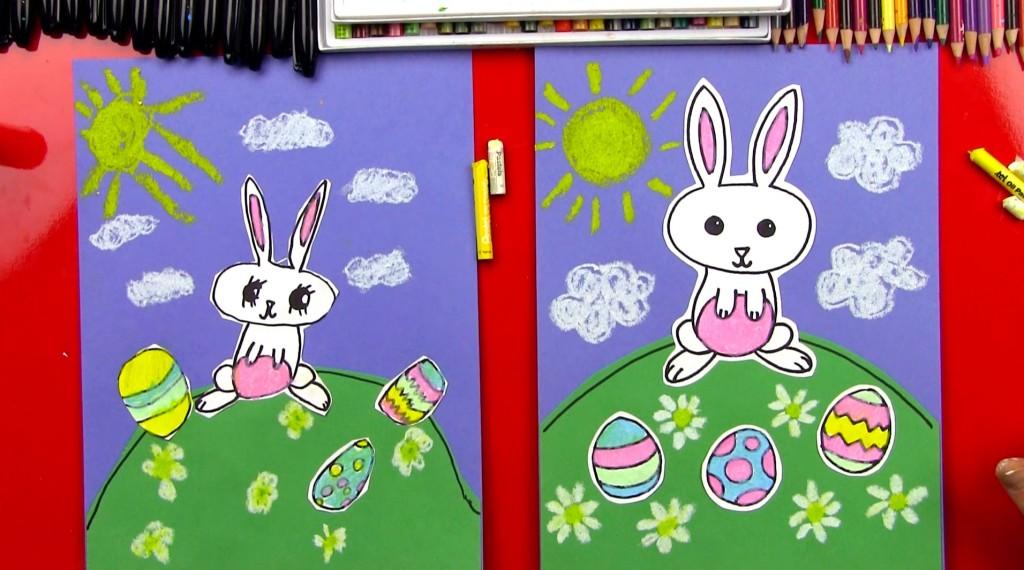 Drawn rabbit art for kid hub A Cartoon Kids Hub Archives