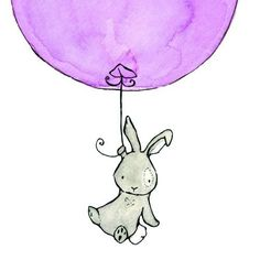 Drawn rabbit baby animal For Animals Balloon Art