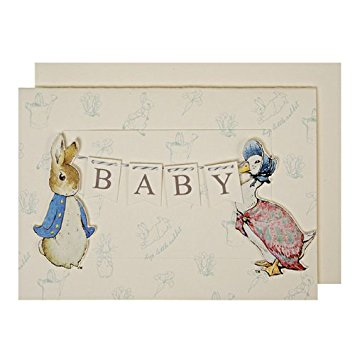 Drawn rabbid baby peter & Peter Baby Home Congratulations