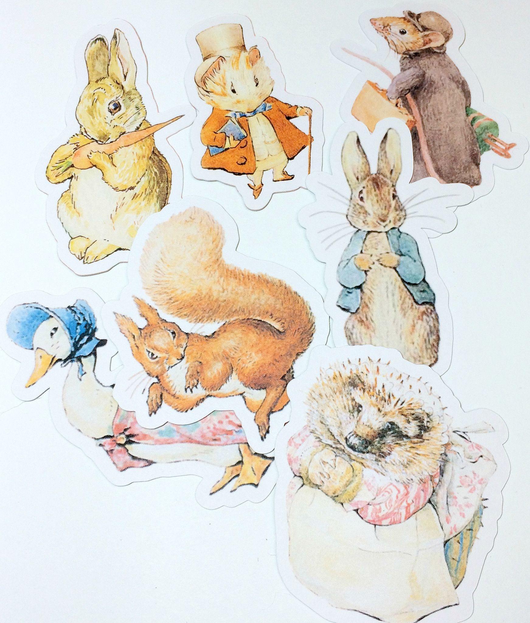 Drawn rabbid baby peter Get mischief Peter Die Paper