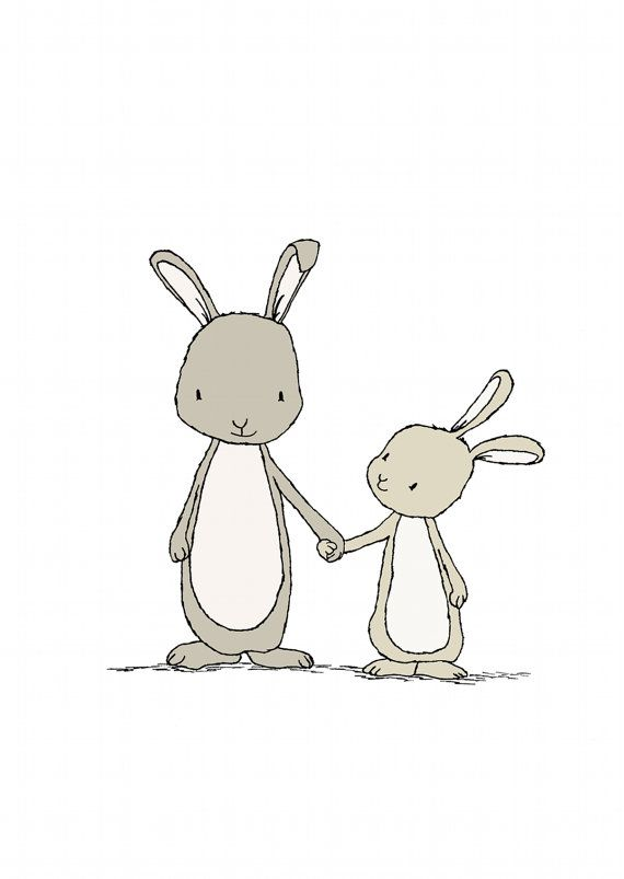 Drawn rabbit children's Best ideas Pinterest  on