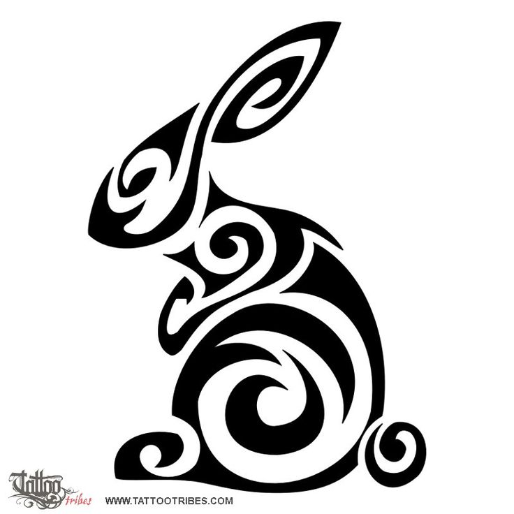 Drawn rabbit chinese rabbit Chinese more best and Tattoo