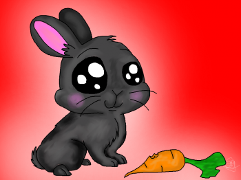 Drawn rabbid adorable bunny Rabbits Tutorials How Drawing &