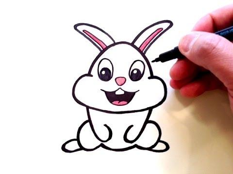 Drawn rabbit cute A Draw How a Cute