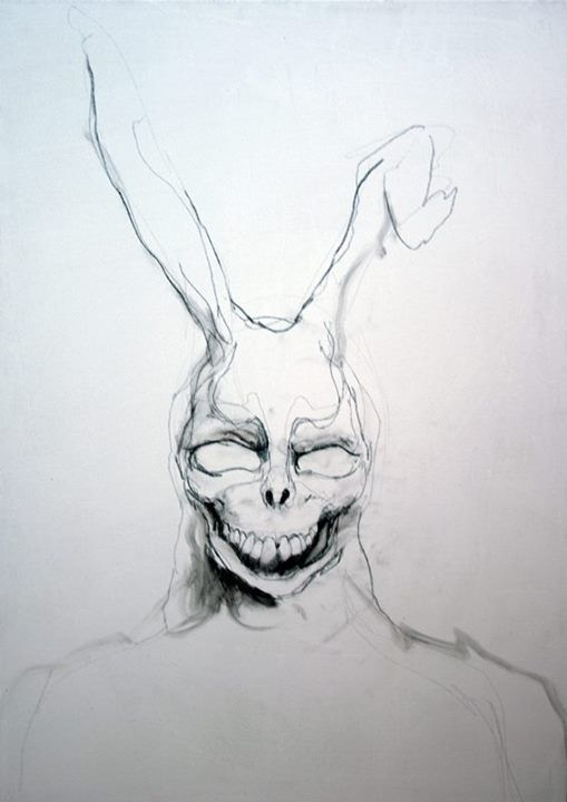 Drawn rabbid donnie darko frank Ideas Donnie Donnie Darko FRANK