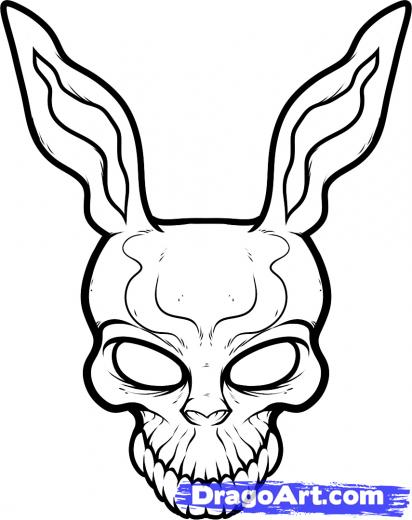 Drawn rabbit donny For Step the Kids Draw