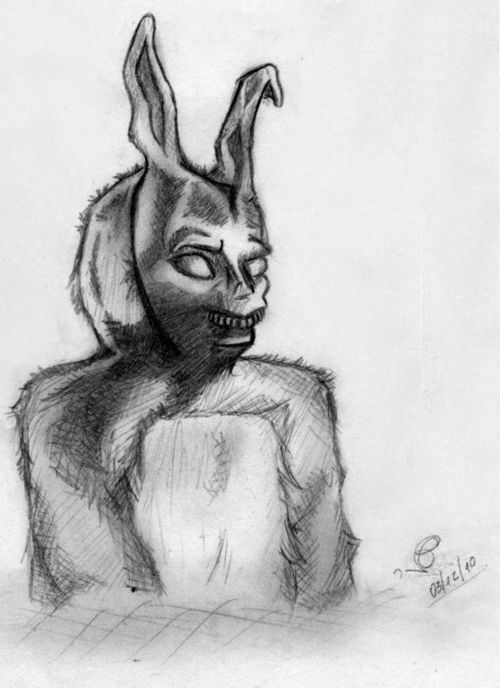 Drawn rabbit donny Darko Drawing Donnie drawing photo#27