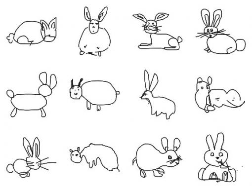 Drawn bunny doodle Doodle Apps Search Bunny recognition