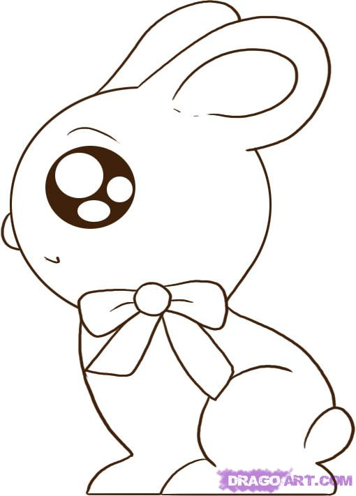 Drawn rabbit easter bunny Easter bunny Easter how a