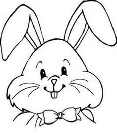 Drawn rabbit face Rabbit rabbit face clipart face