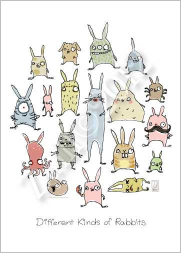 Drawn rabbit funny bunny Andrea bunny It « Zuill's
