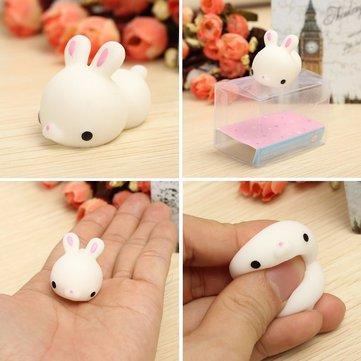 Drawn rabbit healing Mochi Squeeze Bunny Squishy High