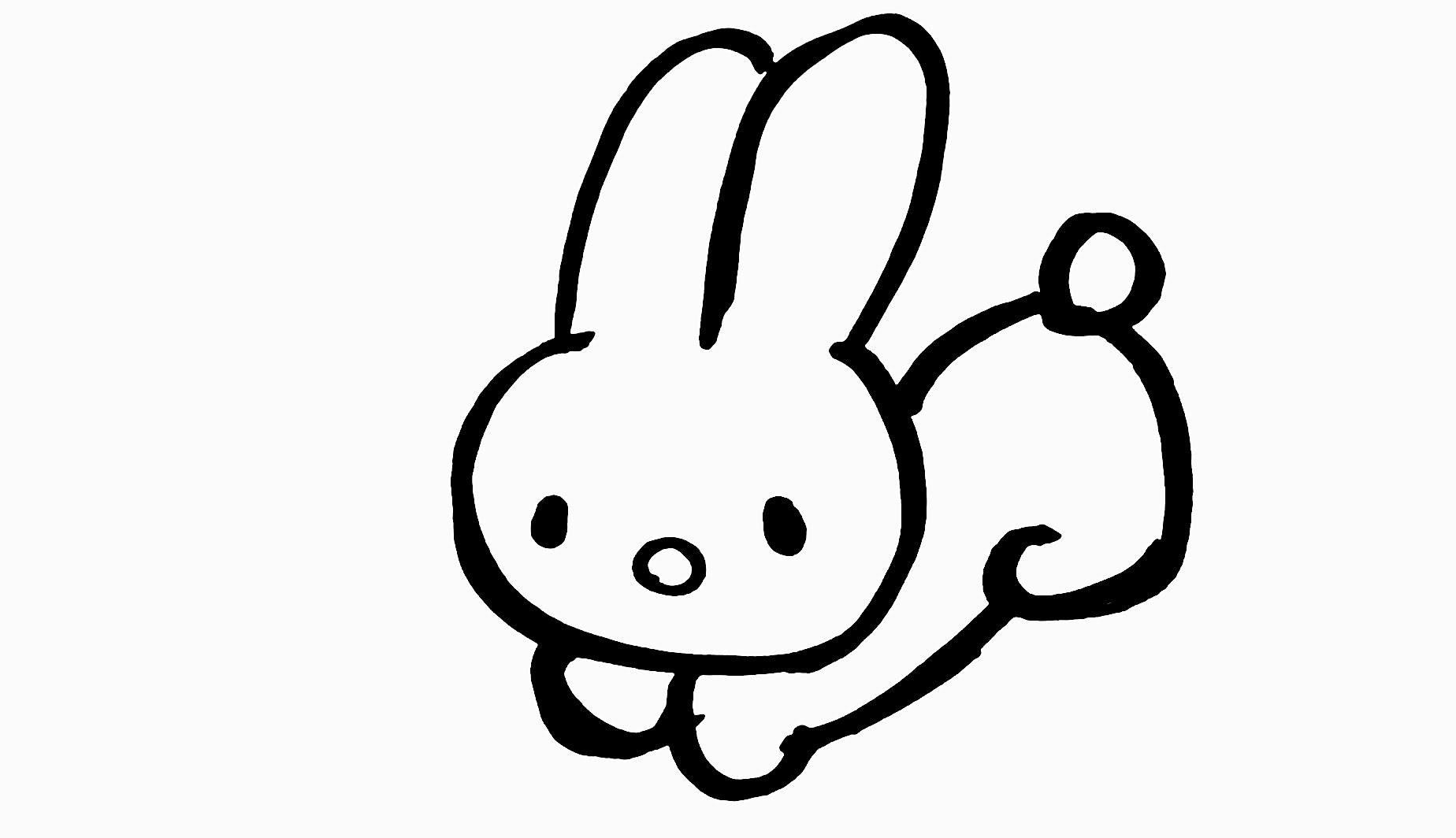 Drawn rabbit invasion Draw A Photo Version