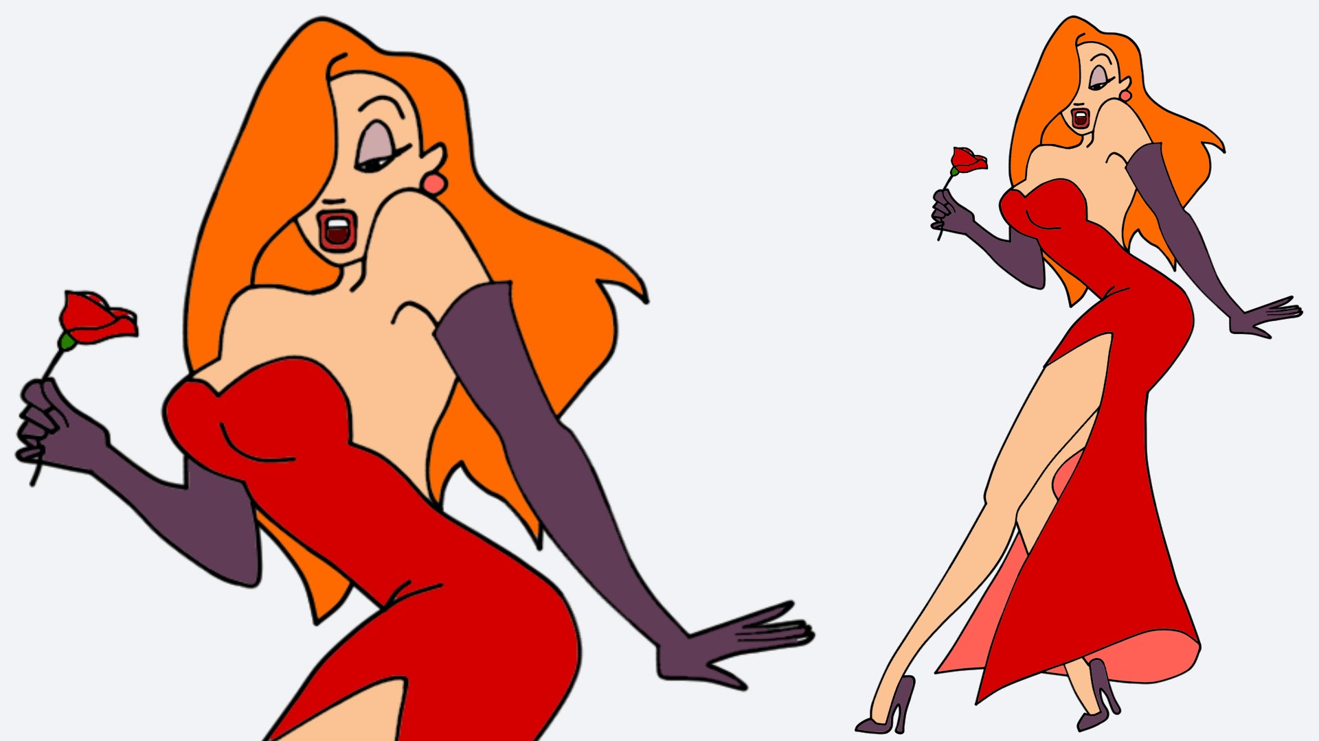 Drawn rabbit jessica rabbit Rabbit to draw Jessica Jessica