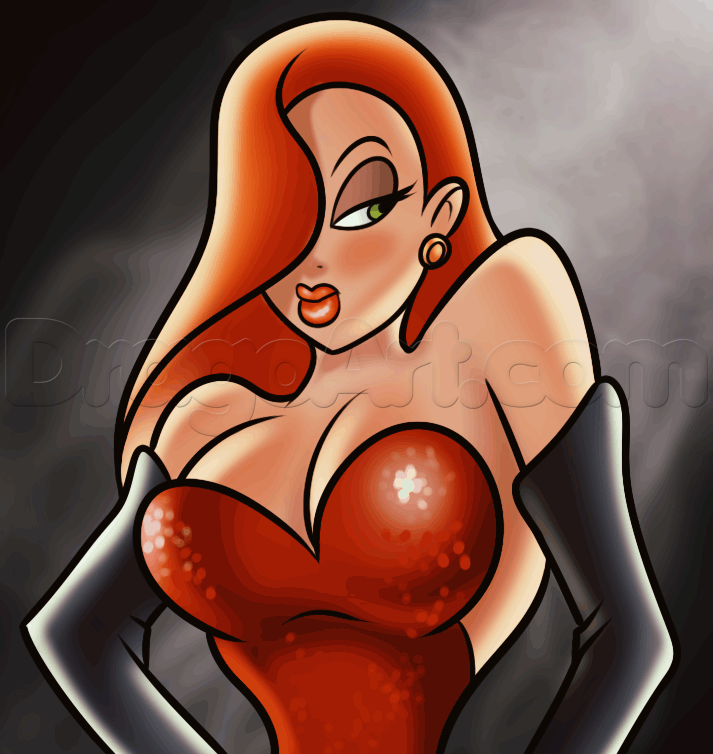 Drawn rabbit jessica rabbit Jessica rabbit by How Step
