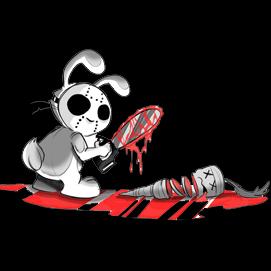 Drawn rabbit killer bunnies Ideas Drawing Horror Movies Top