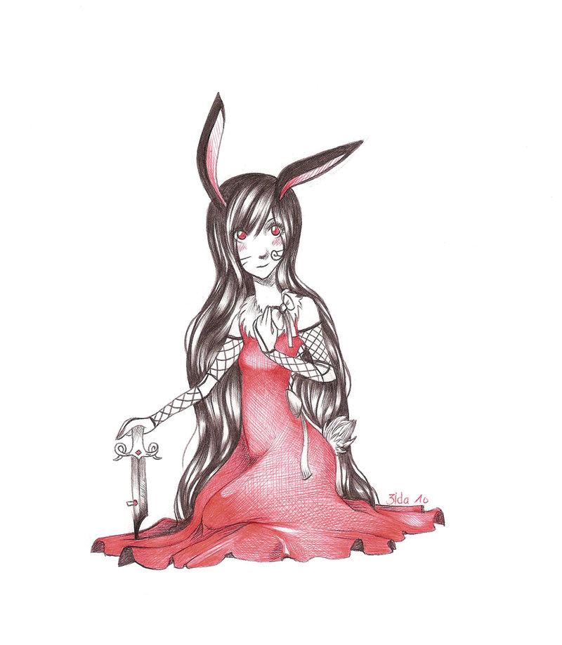 Drawn rabbit killer bunnies Bunny Killer Bunny by by