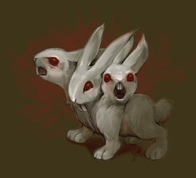 Drawn rabbit killer bunnies Bunny Killer Sketchinns: Bunny Killer