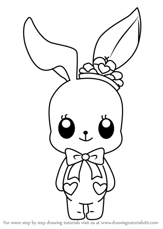 Drawn rabbit little rabbit Little to Draw Aikatsu Learn