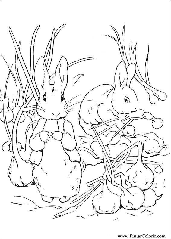 Drawn rabbid peter rabbit Drawing & Colour Peter Drawings