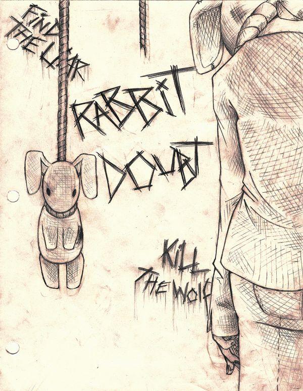 Drawn rabbit psychological About Judge / Doubt rabbit