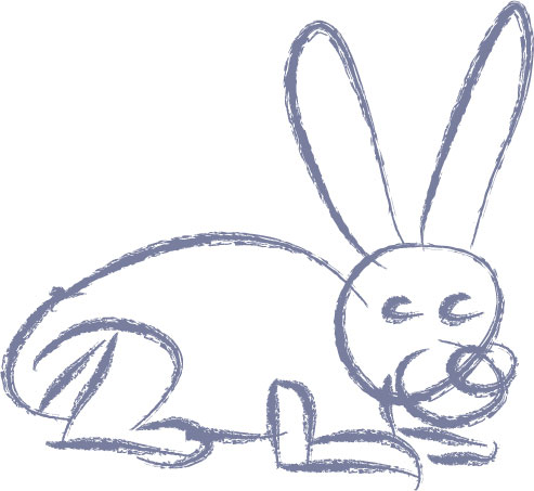 Drawn rabbit rabbit eye A Draw To How