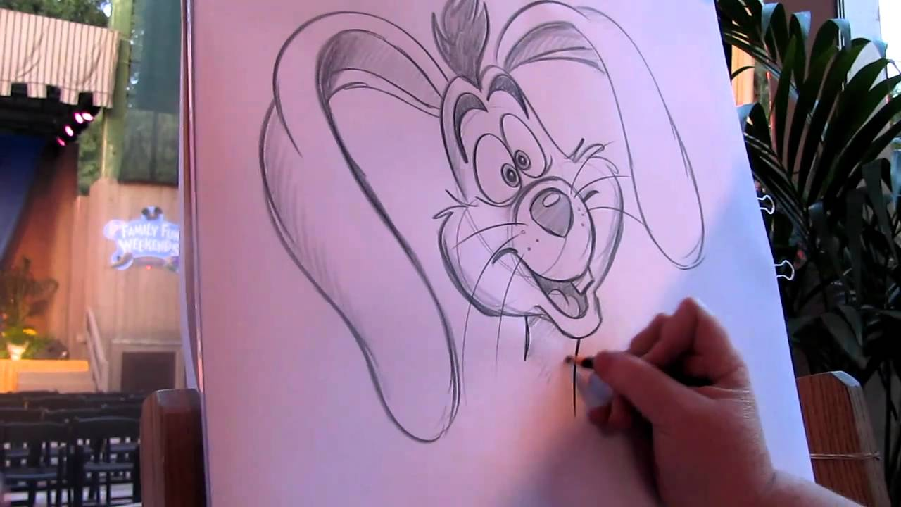 Drawn rabbid roger Rabbit YouTube Drawing  Roger